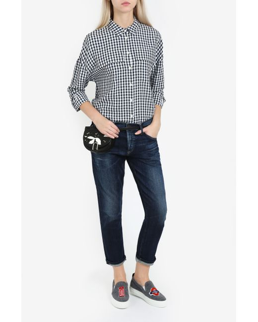 Citizens of Humanity | Blue Thompson Mid-rise Skinny Jeans | Lyst