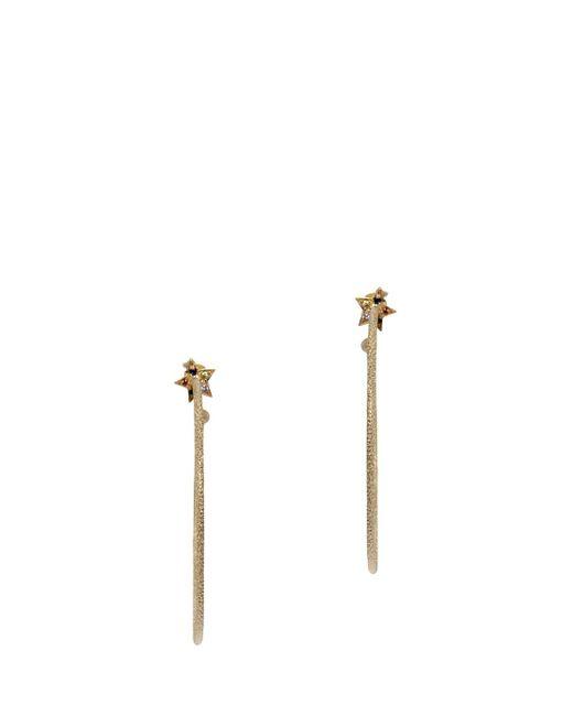 Carolina Bucci | Metallic Small Star Hoop Earrings | Lyst