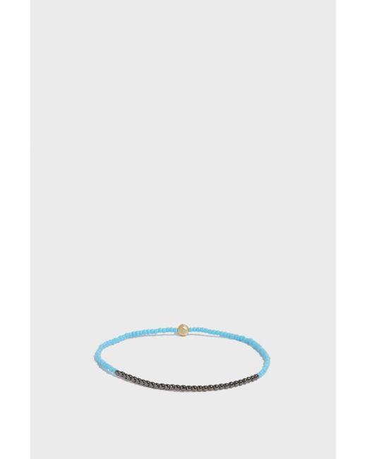 Luis Morais - Multicolor All Seeing Eye Beaded Bracelet, Size Os, Men, Blue - Lyst