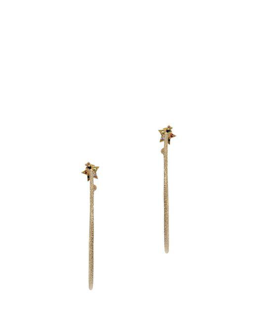 Carolina Bucci | Metallic Large Star Hoop Earrings | Lyst
