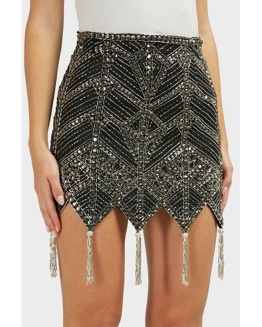 GREY BRAND NEW Stellar Skirt The Zebra Effect Boutique