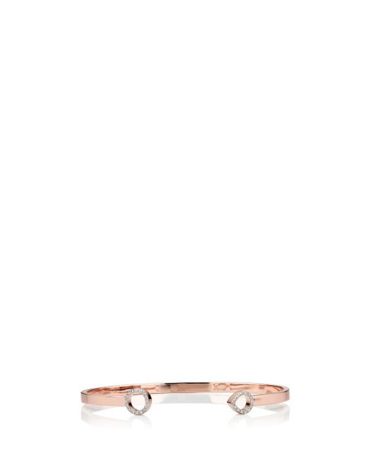 Monica Vinader - Multicolor Diamond Naida Cuff, Size Os, Women, Metallic - Lyst