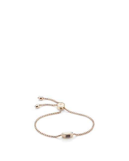 Monica Vinader - Multicolor Baja Deco Labradorite Bracelet - Lyst