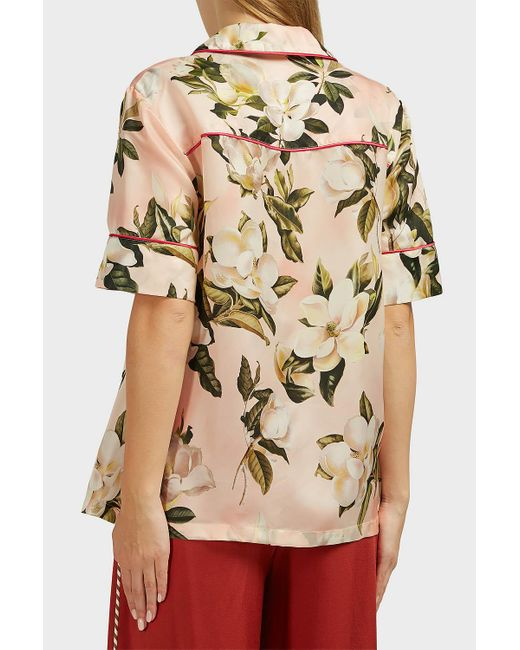 F.R.S For Restless Sleepers Natural Bendis Floral Top