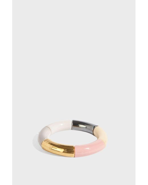 KYOTO TANGO - Metallic Silver Sweet Bracelet - Lyst