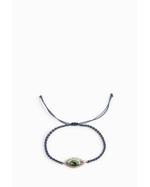 Lito - Multicolor Green Eyelash Bracelet - Lyst