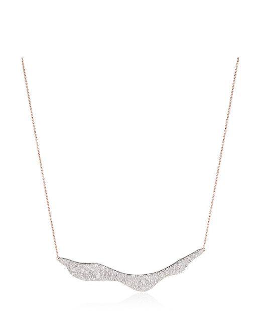 Monica Vinader | Multicolor Riva Diamond Necklace | Lyst