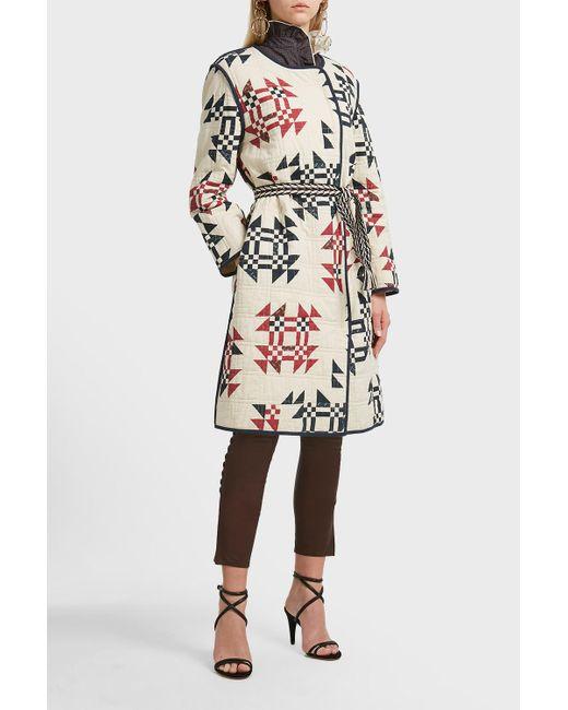 Isabel Marant Multicolor Cotton Lesit Coat