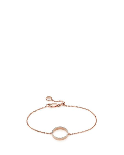 Monica Vinader | Multicolor Naida Open Bracelet | Lyst