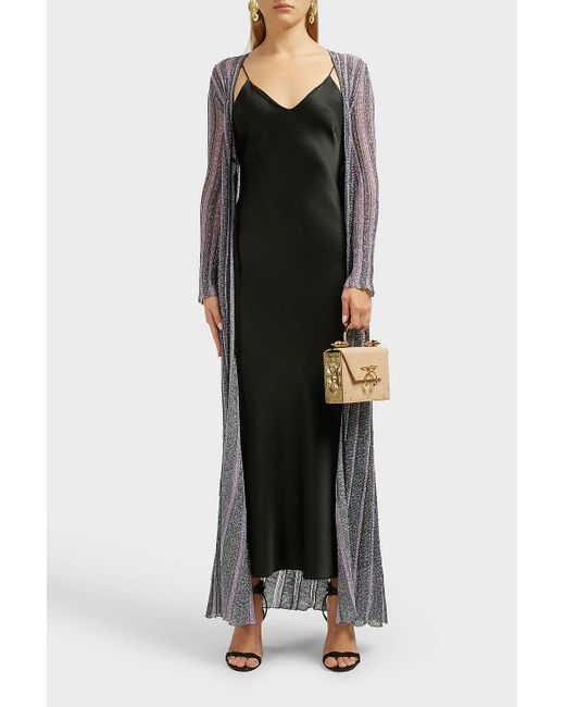 Missoni Multicolor Lurex Long Cardigan