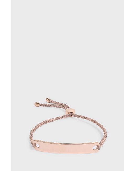 Monica Vinader - Multicolor Havana Friendship Bracelet, Size Os, Women, Metallic - Lyst