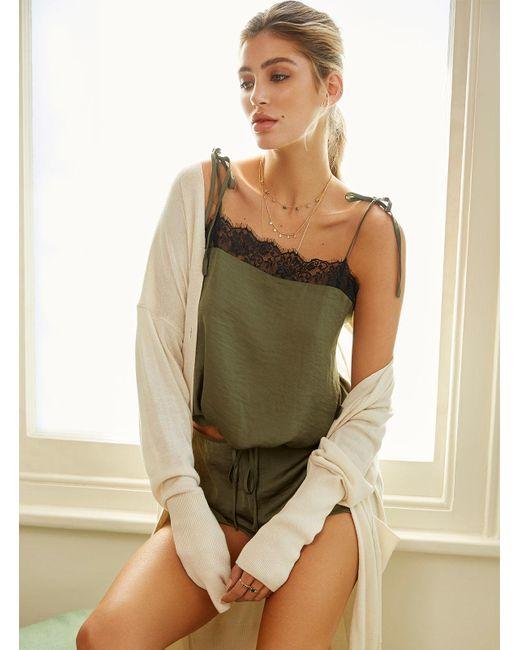 Boux Avenue - Green Saffie Cami And Shorts Set - Lyst