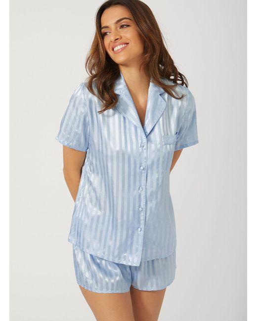a774947df3 Boux Avenue - Blue Vivian Short Pyjama Set - Lyst ...