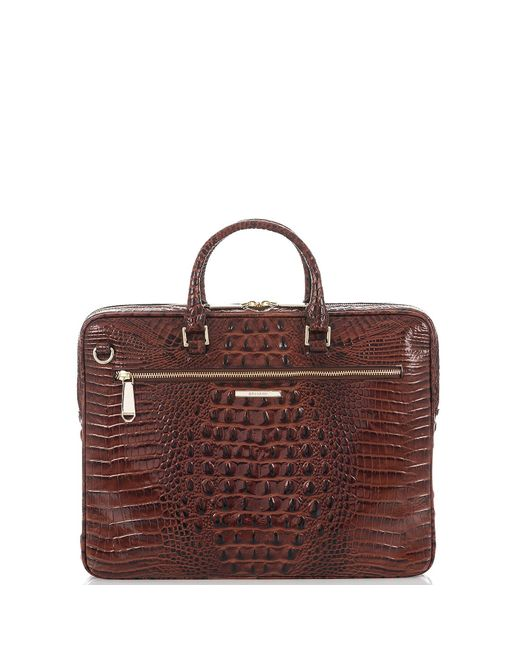 Brahmin Multicolor Laptop Case Pecan Melbourne