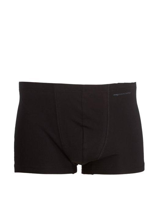 Mey Boxershorts Serie CASUAL COTTON in Black für Herren
