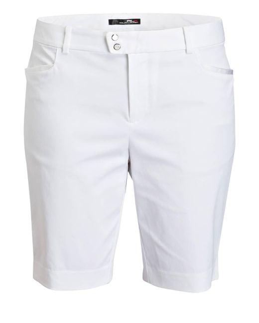 Ralph Lauren Golf White Shorts