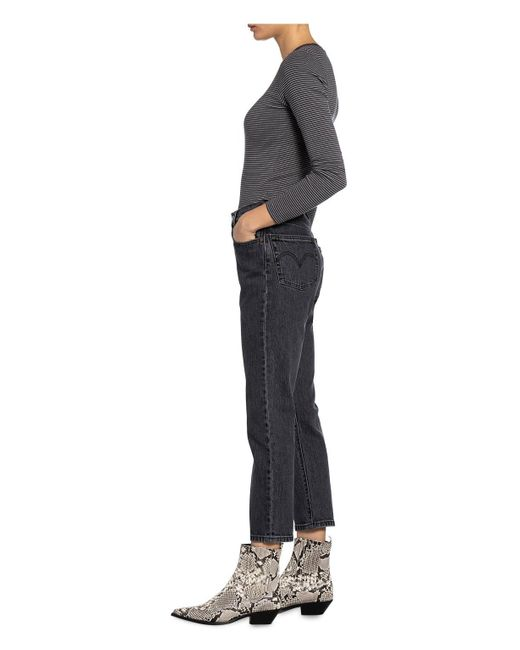 Levi's Gray 7/8-Jeans 501 CROP