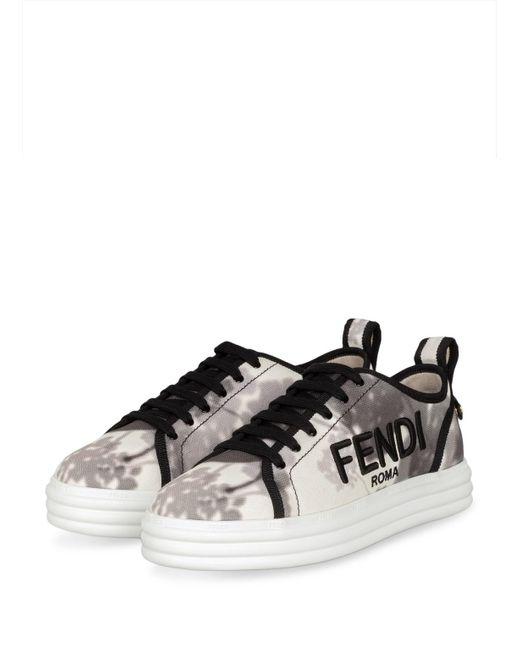 Fendi Multicolor Plateau-Sneaker RISE