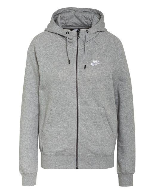 Nike Gray Sweatjacke SPORTSWEAR ESSENTIAL