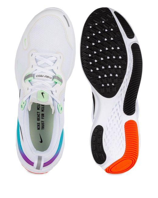 Nike Laufschuhe REACT MILER in White für Herren