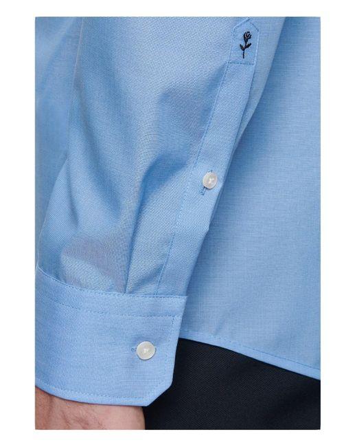 Seidensticker Business Hemd Regular in Blue für Herren