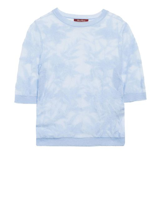 Max Mara Studio Blue Pullover
