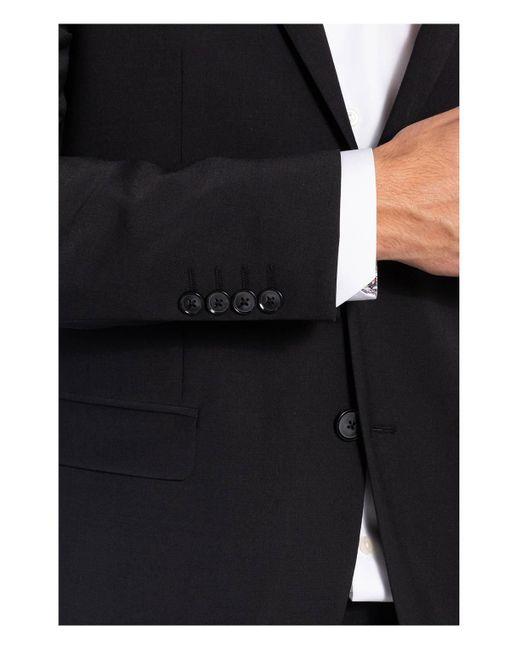 Pierre Cardin Kombi-Sakko ANDRE Regular Fit in Black für Herren