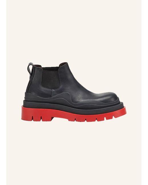 Bottega Veneta Black Chelsea-Boots THE LUG
