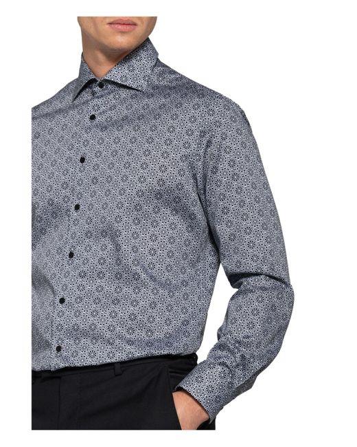 Eterna Hemd Modern Fit in Blue für Herren