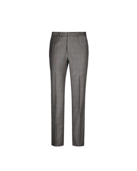 Brioni - Brown Plaid Pants for Men - Lyst