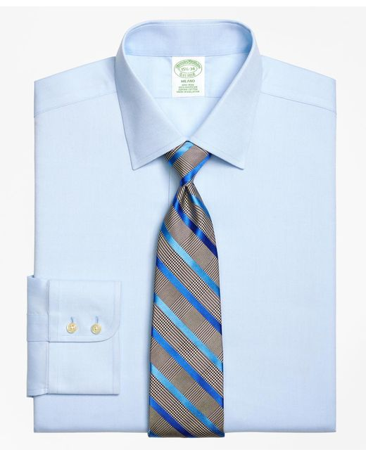 Brooks Brothers | Blue Non-iron Regent Fit Royal Oxford Dress Shirt for Men | Lyst