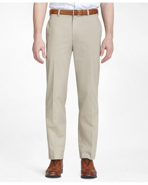 Brooks Brothers | Natural Clark Advantage Chinos® for Men | Lyst