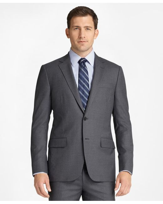 Brooks Brothers - Gray Fitzgerald Fit Golden Fleece® Suit for Men - Lyst