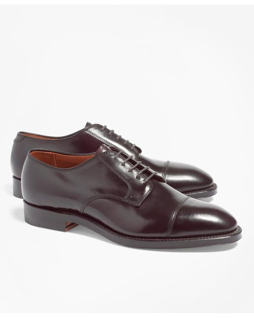 Brooks Brothers | Purple Cordovan Leather Straight Tips for Men | Lyst