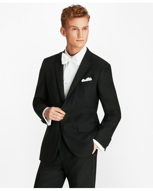 Brooks Brothers Black Extra Slim Fit One-button 1818 Tuxedo for men