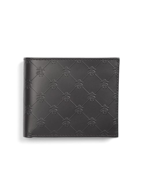 Brooks Brothers - Black Golden Fleece® Embossed Wallet for Men - Lyst