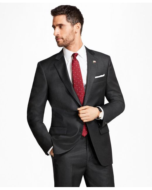 Brooks Brothers - Gray Madison Fit Tic 1818 Suit for Men - Lyst
