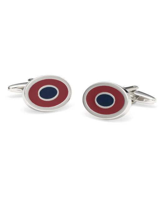 Brooks Brothers | Purple Two-color Oval Cuff Links for Men | Lyst