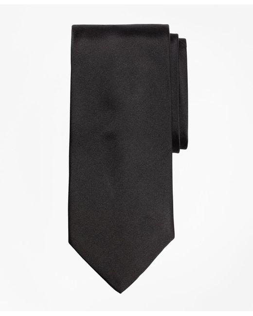 Brooks Brothers | Black Tuxedo Necktie for Men | Lyst