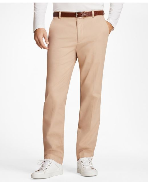 Brooks Brothers - Multicolor Clark Fit Supima® Cotton Stretch Chinos for Men - Lyst