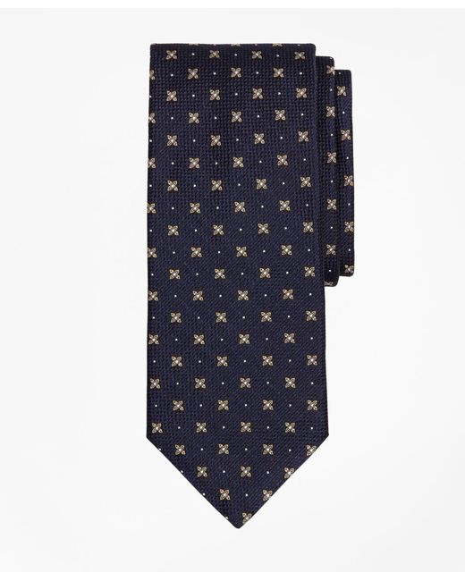 Brooks Brothers - Blue X And Dot Tie for Men - Lyst