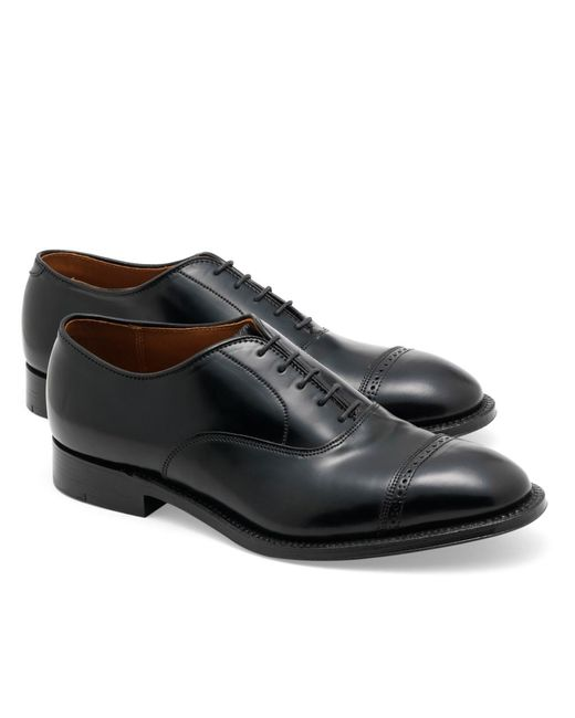 Brooks Brothers | Black Cordovan Perforated Captoes for Men | Lyst