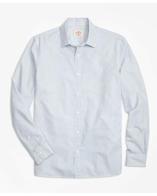 Brooks Brothers | Blue Nine-to-nine Stripe Shirt for Men | Lyst