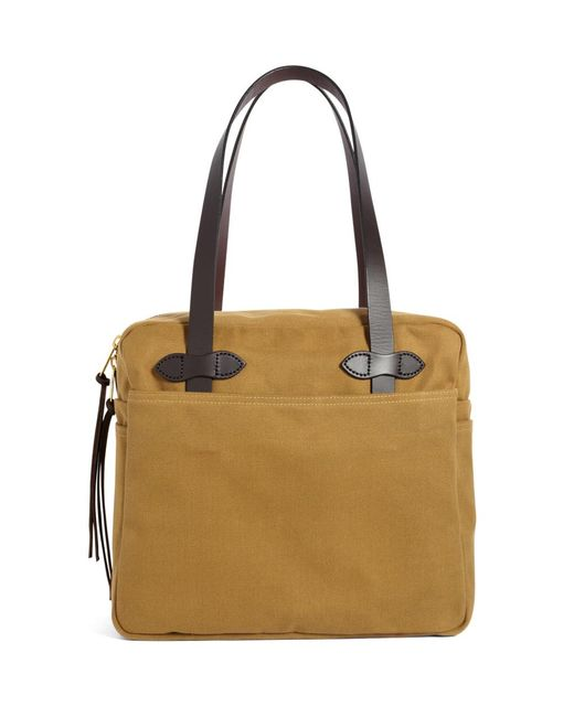 Brooks Brothers | Brown Filson® Medium Zippered Tote Bag | Lyst