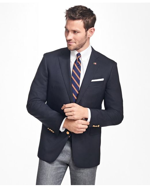 Brooks Brothers - Blue Regent Fit Two-button 1818 Blazer for Men - Lyst