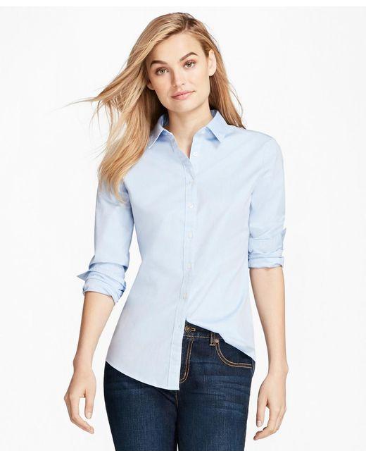 Brooks Brothers | Blue Nine-to-nine Shirt | Lyst