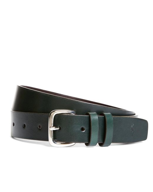 Brooks Brothers - Green Harrys Of London® Satin Calfskin Belt for Men - Lyst