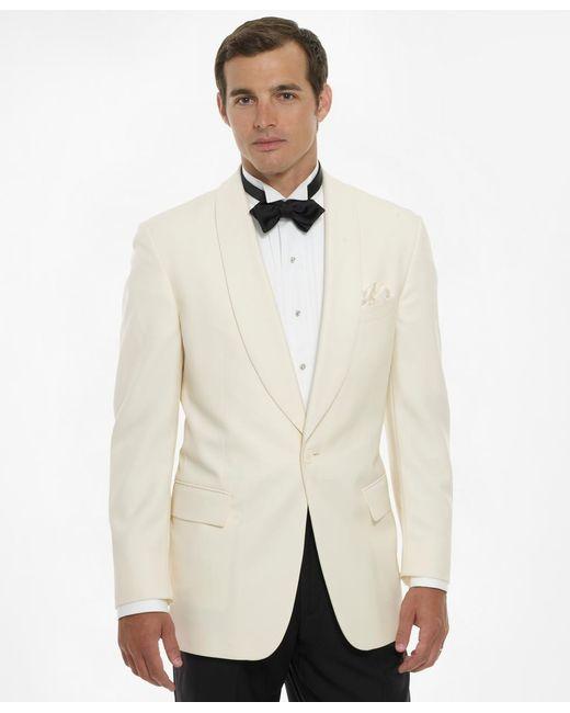 Brooks Brothers - White Dinner Jacket for Men - Lyst