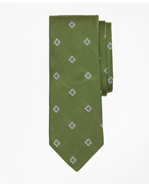 Brooks Brothers - Green Textured Four-petal Flower Tie for Men - Lyst