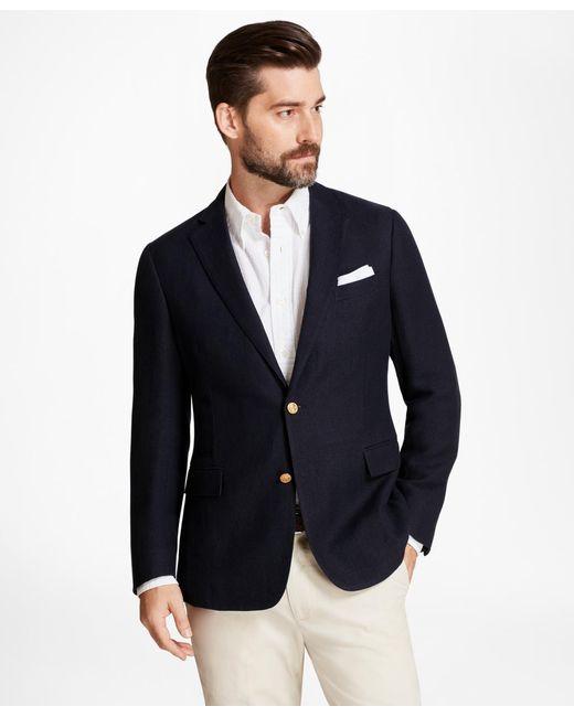 Brooks Brothers - Blue Regent Fit Textured Blazer for Men - Lyst